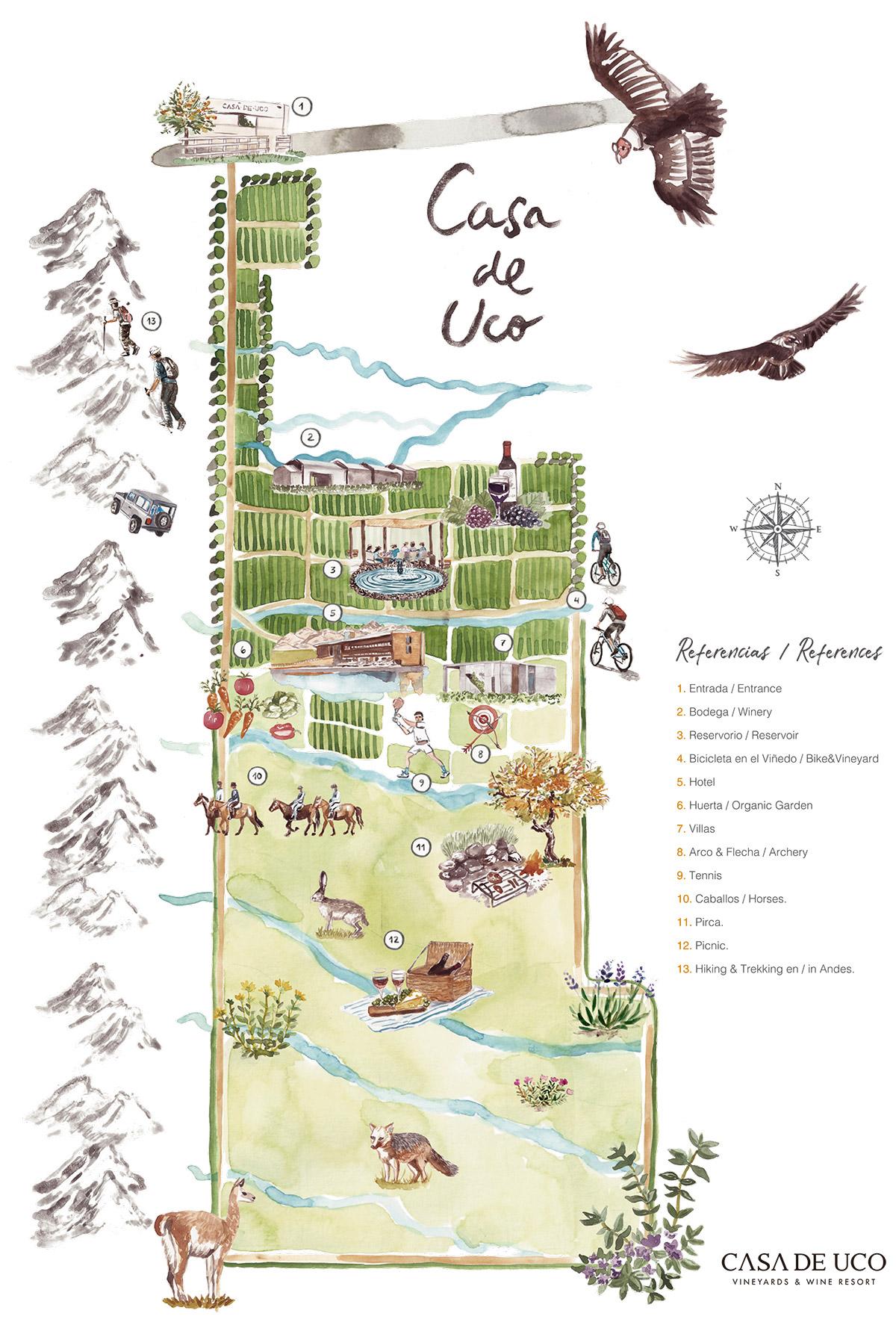 Casa de Uco Map